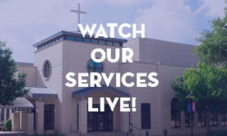 Watch our services live!